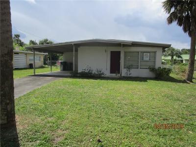 Melbourne, Melbourne Beach Single Family Home For Sale: 109 Bluff Terrace