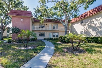 Vero Beach Condo/Townhouse For Sale: 92 Spring Lake Drive #205