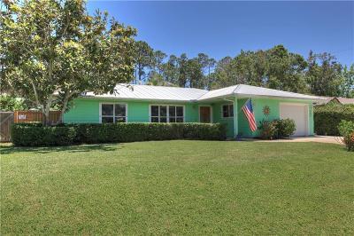 Sebastian Single Family Home For Sale: 565 Glencove Street