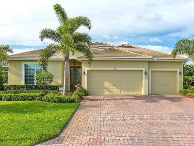 Vero Beach Single Family Home For Sale: 4255 Diamond