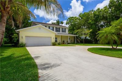 Vero Beach Single Family Home For Sale: 2124 Buena Vista Boulevard