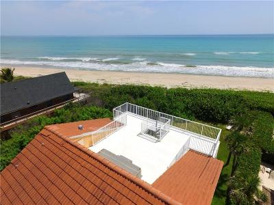Vero Beach, Indian River Shores, Melbourne Beach, Sebastian, Palm Bay, Orchid Island, Micco, Indialantic, Satellite Beach Single Family Home For Sale: 12510 Highway A1a