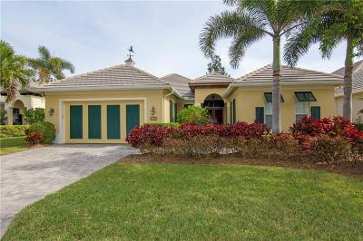 Vero Beach Single Family Home For Sale: 9240 Spring Time Drive