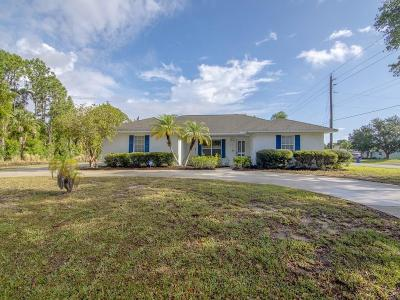 Sebastian Single Family Home For Sale: 602 Lake Drive