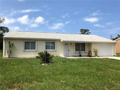 Sebastian Single Family Home For Sale: 114 Indian Avenue