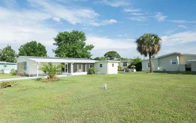 Sebastian Single Family Home For Sale: 703 Silverthorn Court