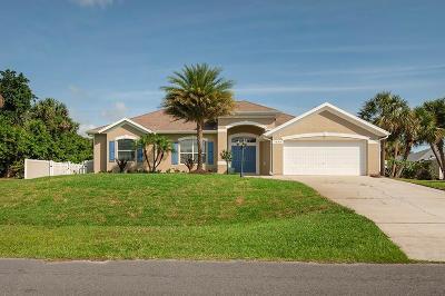 Sebastian Single Family Home For Sale: 1060 Carnation Drive