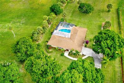 Vero Beach Single Family Home For Sale: 6380 SW 1st Street