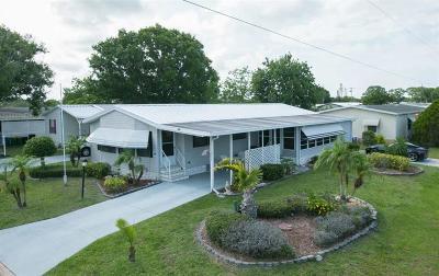 Sebastian Single Family Home For Sale: 600 Tarpon Drive