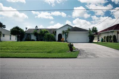 Sebastian Single Family Home For Sale: 450 Concha Drive