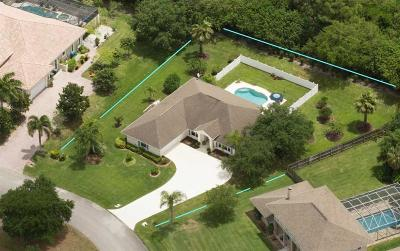 Sebastian Single Family Home For Sale: 7 River Oak Drive