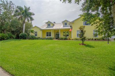 Sebastian Single Family Home For Sale: 47 River Oak Drive