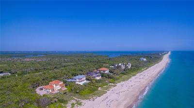 Vero Beach, Indian River Shores, Melbourne Beach, Sebastian, Palm Bay, Orchid Island, Micco, Indialantic, Satellite Beach Single Family Home For Sale: 11780 Seaview Drive