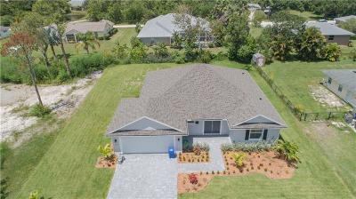 Vero Beach Single Family Home For Sale: 3135 62nd Avenue