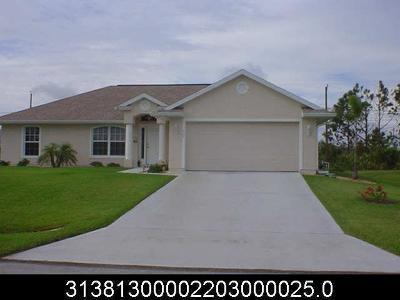 Sebastian Single Family Home For Sale: 429 Perch Lane