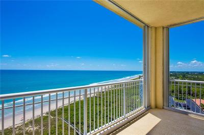 Fort Pierce Condo/Townhouse For Sale: 3920 Hwy Highway A1a #PH4