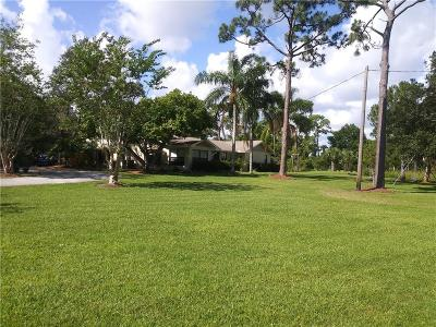 Sebastian Single Family Home For Sale: 12450 Roseland Road
