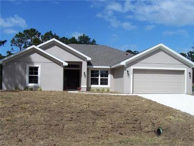 Sebastian Single Family Home For Sale: 120 Redgrave Drive