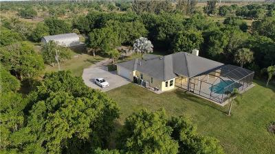 Fort Pierce Single Family Home For Sale: 5605 Johnston Road