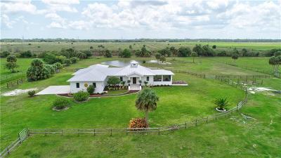 Fort Pierce Single Family Home For Sale: 2366 Brocksmith Road