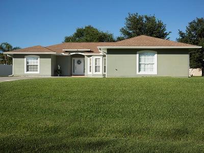 Sebastian Single Family Home For Sale: 468 Biscayne Lane