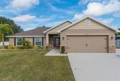 Sebastian Single Family Home For Sale: 1224 George Street