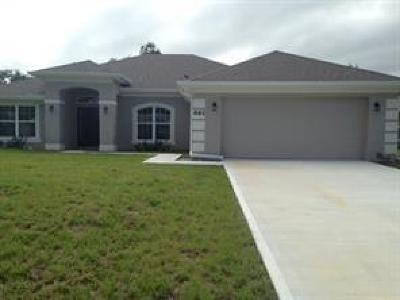 Sebastian Single Family Home For Sale: 1562 Eastlake Lane