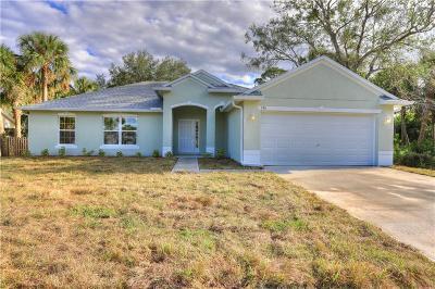 Sebastian Single Family Home For Sale: 537 Croton Avenue
