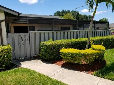 Fort Pierce Single Family Home For Sale: 1311 Peppertree Trail #C