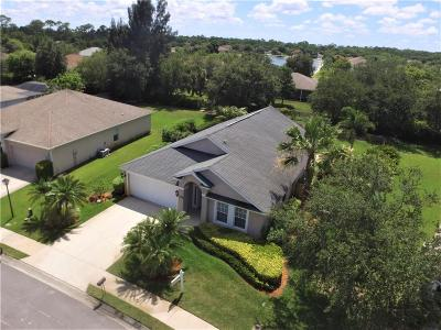 Vero Beach, Indian River Shores, Melbourne Beach, Melbourne, Sebastian, Palm Bay, Orchid Island, Micco, Indialantic, Satellite Beach Single Family Home For Sale: 4631 Paladin Circle