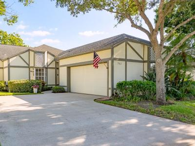 Vero Beach, Indian River Shores, Melbourne Beach, Melbourne, Sebastian, Palm Bay, Orchid Island, Micco, Indialantic, Satellite Beach Single Family Home For Sale: 7963 Ascot Place