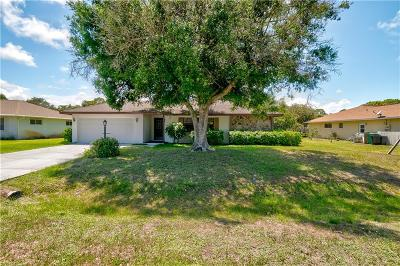 Fort Pierce Single Family Home For Sale: 5107 Eagle Drive