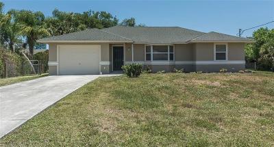 Sebastian Single Family Home For Sale: 8060 134th Street