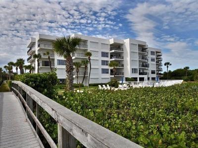 Vero Beach, Indian River Shores, Melbourne Beach, Melbourne, Sebastian, Palm Bay, Orchid Island, Micco, Indialantic, Satellite Beach Condo/Townhouse For Sale: 1700 Ocean Drive #204V