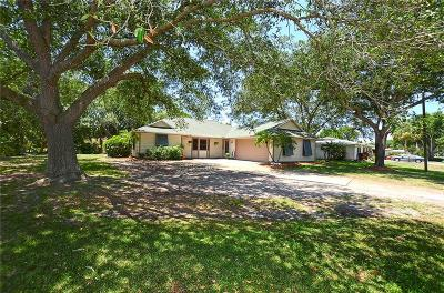 Vero Beach, Indian River Shores, Melbourne Beach, Melbourne, Sebastian, Palm Bay, Orchid Island, Micco, Indialantic, Satellite Beach Single Family Home For Sale: 4311 9th Place