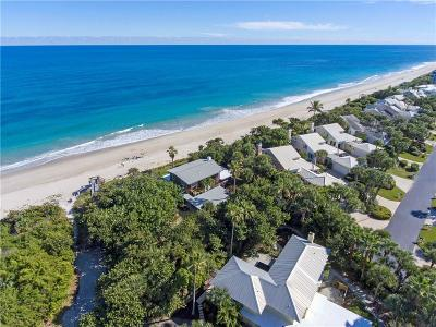 Vero Beach, Indian River Shores, Melbourne Beach, Melbourne, Sebastian, Palm Bay, Orchid Island, Micco, Indialantic, Satellite Beach Single Family Home For Sale: 985 Beachcomber Lane