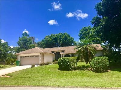 Sebastian Single Family Home For Sale: 920 Claire Avenue