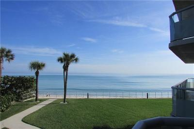 Vero Beach, Indian River Shores, Melbourne Beach, Melbourne, Sebastian, Palm Bay, Orchid Island, Micco, Indialantic, Satellite Beach Rental For Rent: 3554 Ocean Drive #202N