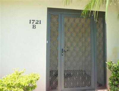 Fort Pierce Condo/Townhouse For Sale: 1721 Mariners Cove #3B