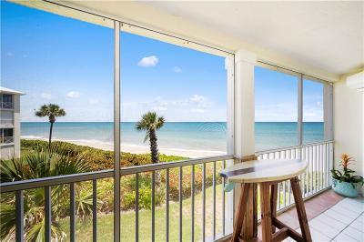 Vero Beach, Indian River Shores, Melbourne Beach, Melbourne, Sebastian, Palm Bay, Orchid Island, Micco, Indialantic, Satellite Beach Rental For Rent: 8880 N Sea Oaks Way #203