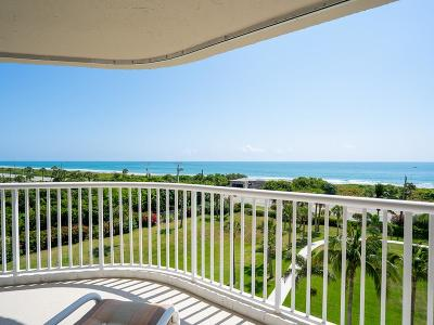 Hutchinson Island Condo/Townhouse For Sale: 5051 Highway A1a #6-5