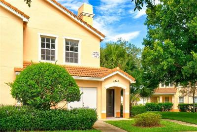 Vero Beach, Indian River Shores, Melbourne Beach, Melbourne, Sebastian, Palm Bay, Orchid Island, Micco, Indialantic, Satellite Beach Condo/Townhouse For Sale: 2424 57th Circle #2424
