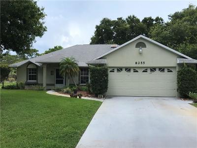 Sebastian Single Family Home For Sale: 8255 125th Place