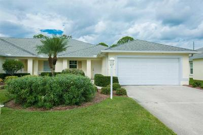 Sebastian Single Family Home For Sale: 987 Easy Street