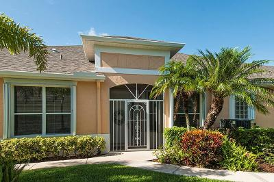 Vero Beach, Indian River Shores, Melbourne Beach, Melbourne, Sebastian, Palm Bay, Orchid Island, Micco, Indialantic, Satellite Beach Single Family Home For Sale: 454 SW Tangerine