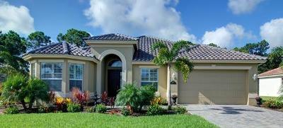 Vero Beach Single Family Home For Sale: 4700 Four Lakes Circle