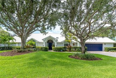 Vero Beach, Indian River Shores, Melbourne Beach, Sebastian, Palm Bay, Orchid Island, Micco, Indialantic, Satellite Beach Single Family Home For Sale: 2245 Genesea Lane