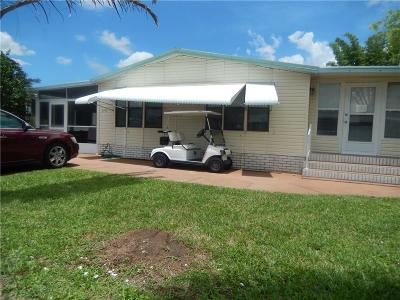 Sebastian Single Family Home For Sale: 6170 98th Street