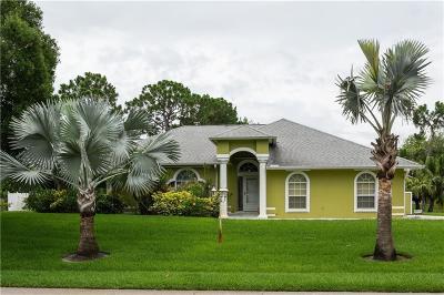 Sebastian Single Family Home For Sale: 607 Chesser Avenue