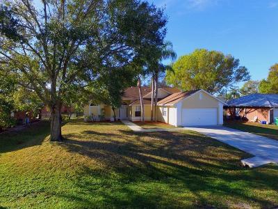 Sebastian FL Single Family Home For Sale: $237,900
